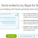 Ausgewählte Skype-Nutzer werden zur Beta eingeladen.