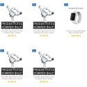 Knapp ist derzeit die Auswahl bei Zubehör-Armbändern. Gerade in diesem Bereich rechnen wir jedoch schnell mit Zulauf, da Apple für seine Original-Armbänder hohe Preise von bis zu 500 Euro verlangt. Aber...