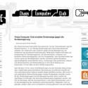 """Der Chaos Computer Club hat im Februar des letzten Jahres die Bundesregierung wegen """"verbotener geheimdienstlicher Agententätigkeiten sowie Beihilfe dazu"""" verklagt."""