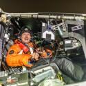 Im Cockpit sind die Piloten harschen Bedingungen wie Kälte und Luftdruck ausgesetzt.