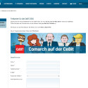"""Comarch ist ein Anbieter von Software für die Optimierung von Geschäftsprozessen. <a href=""""http://www.comarch.de/events/freikarten-fuer-die-cebit-2015"""" target=""""_self"""">Auf dieser Webseite</a> lädt das Unternehmen interessierte Besucher auf die CeBIT ein."""