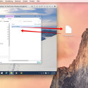 Dateien lassen sich einfach aus dem Gastbetriebssystem, beispielsweise Windows, auf den Schreibtisch oder in einen Ordner im Finder kopieren. Auch die umgekehrte Richtung ist möglich.