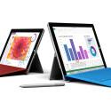 Das Surface 3 ist etwas kleiner als das Surface Pro 3, kommt dafür ohne Lüfter aus. Den Surface Pen...