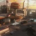 """In der Fortsetzung des Exo-Zombie-Modus """"Infection"""" flüchten die Überlebenden Atlas-Angestellten in eine Filiale der Burger Town-Kette."""