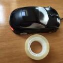 Fürs Büro: Klebt die optische Maus unten mit einem Stück weißen Papier und Tesastreifen zu. Eure Kollegen werden sich wundern, warum die Maus nicht mehr funktioniert.