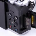 Bilder und Videos werden auf SD-Speicherkarten abgelegt.