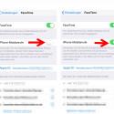 """Ihr müsst die Telefonfunktion aktivieren, wenn dies noch nicht geschehen ist. Dafür geht ihr auf eurem iPhone in die """"Einstellungen"""" und dort zu """"Facetime"""". Anschließend schiebt ihr den Schalter bei """"iPhone-Mobilanrufe"""" von links nach rechts, sodass dieser grün wird."""