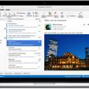 Zu den neuen Funktionen in Outlook für gehören die Unterstützung für Onlinearchive, die Synchronisierung von Kategorienlisten sowie die Wettervorhersage im Kalender.