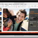 """Das neue PowerPoint für Mac wurde um weitere Folienübergänge erweitert und bietet einen verbesserten Aufgabenbereich namens """"Animationen""""."""