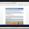"""Das neue Word für Mac bietet Werkzeuge zum Bearbeiten, Überprüfen und Teilen. Über die neue Registerkarte """"Entwurf"""" könnt ihr schneller auf Funktionen zugreifen."""