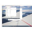 Sehr praktisch ist auch die dynamische Auflösung. Dadurch ist es möglich, dass ihr das Fenster des virtuellen Betriebssystems einfach durch Ziehen vergrößert oder verkleinert. Die Auflösung im Fenster wird automatisch an die neue Größe angepasst.