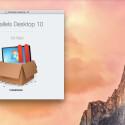 Startet den Installationsassistenten von Parallels Desktop 10 für Mac mit einem Doppelklick auf die heruntergeladene Datei. Im ersten Fenster startet ihr die Installation mit einem erneuten Doppelklick auf das Icon.
