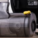 Der Staubbehälter fass ordentliche 700 Milliliter.