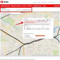 Über die Suchfelder oberhalb der Karte könnt ihr die Verspätungen auch über die Web-App aufrufen. Das ist praktisch, wenn ihr jemanden vom Bahnhof abholen möchtet. So könnt ihr am Schreibtisch prüfen, ob der Zug pünktlich ankommt oder um welche Zeit er sich verspätet.