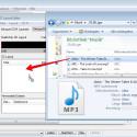 Auf Wunsch: Falls ihr kein CUE Sheet erstellt habt, könnt ihr die Musikdatei auch direkt per Drag-and-drop aus einem Explorer-Fenster in den CD Layout Editor ziehen.
