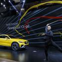 Mercedes Concept GLC Coupé auf der Shanghai Auto Show.