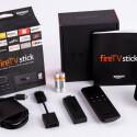 Als da wären: USB-Kabel, HDMI-Verlängerung, Batterien, Fernbedienung und Netzteil.