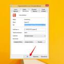 """Das ausgewählte Icon wird auf der Registerkarte """"Verknüpfung"""" angezeigt. Auf Wunsch hinterlegt ihr im Feld hinter """"Tastenkombination:"""" noch ein Tastaturkürzel für die Ausführung der Aktion. Dadurch spart ihr euch den Klick und aktiviert die Verknüpfung per Shortcut. Mit einem Klick auf """"OK"""" schließt ihr das Eigenschaften-Fenster wieder."""