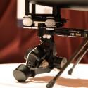 Unter dem Hexacopter ist ein Gimbal mit einer GoPro-Actioncam montiert.