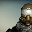 Das ist der Eisenbanner-Helm für Jäger.