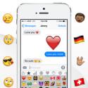 Zahlreiche Emojis und Sticker sind kostenlos verfügbar. Weitere gibt es per In-App-Kauf.