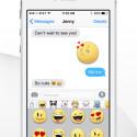 """Große Tastatur-Sticker werden als Bild mit """"Kopieren"""" und """"Einfügen"""" in jeden beliebigen Messenger oder eine E-Mail eingefügt."""