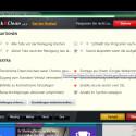 """Habt ihr alle Einstellungen vorgenommen, so könnt ihr das Optionen-Fenster schließen. Mit einem Klick auf """"Start Cleaner"""" startet ihr optional die Bereinigung der Browserdaten manuell."""