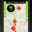 Über die Kartenansicht informiert ihr euch bereits vor Fahrtantritt über bestehende Behinderungen oder Ereignisse auf eurer Route.
