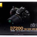 Das Testmodell von Nikon ist die D7200 mit einem AF-S 18-105mm VR-Objektiv.