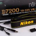 Tragegurt, Okularabdeckung und ein USB-Kabel legt der japanische Hersteller der D7200 bei.