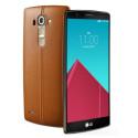 Das LG G4 bietet offenbar ein Ledercover.