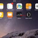 Alle nativen Apps, die ihr nicht benötigt, könnt ihr in einen Sammelordner verschieben. Tippt dazu zuerst eine App lange an, bis die Icons zu wackeln beginnen. Anschließend schiebt ihr beispielsweise das Apple Watch-Icon auf eine weitere App, die ihr ebenfalls verbergen möchtet.