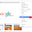 """Öffnet ein Browser-Fenster in Google Chrome und wählt rechts oben über die drei Querstreifen das Menü aus. Öffnet mit einem Klick den Punkt """"Verlauf"""". Alternativ nutzt ihr nach dem Öffnen des Browser-Fensters die Tastenkombination [Strg] + [H]."""