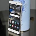 Der Bildschirm des Huawei P8 misst in der Diagonalen 5,2 Zoll.