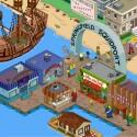 Dein Springfield kann expandieren und sogar einen Hafen beherbergen. (Quelle: EA)