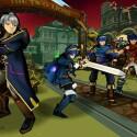Daraen, Lucina, Marth und Ike könnt ihr mit den passenden amiibo-Figuren in den Kampf schicken.