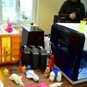 XYZ präsentiert neue 3D-Drucker in Hamburg.