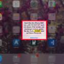 Auf eurem iPad erscheint ein Fenster mit dem generierten Code, welchen ihr eingeben müsst. Damit sich die Geräte richtig verbinden, wird zur Kontrolle noch einmal eure Rufnummer vom iPhone angezeigt.