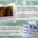 Notes of Berlin ist ein Filmprojekt, bei dem es um die Geschichte hinter Notizzetteln geht.