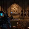 Rüstet die Waffe aus, die ihr umschmieden wollt, besucht den Waffenmeister im Turm...