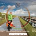 Die Solarstraße in den Niederlanden produziert mehr Strom als erwartet.