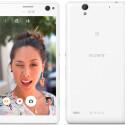 Das Sony Xperia C4 richtet sich laut Hersteller vor allem an Selfie-Fotografen.