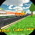 """Virtuelle Scharfschützen bekommen ebenfalls neue Shooter-Games auf ihr Smartphone. Beispielsweise die Android-App """"Cube Sniper: Traffic Shooter 3D Full"""". 1,84 Euro gespart."""