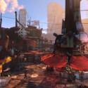 ...in Fallout 4 werfen sich wohl hautlose Ghule die Bälle zu.