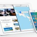 Die neue Split-Screen-Funktion ermöglicht das zeitgleiche Arbeiten mit zwei geöffneten Apps auf dem iPad.