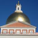 "Das ""Massachusetts State House"" in Boston..."