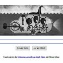 Das Google Doodle am 21. April 2015. Vor 81 Jahren wurde das erste Foto von Nessie veröffentlicht.