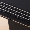 Die Tastatur des BlackBerry Passport bietet nur noch drei anstatt wie bislang vier Zeilen.