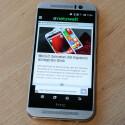 Das Display des HTC One M9 bietet eine Diagonale von fünf Zoll.