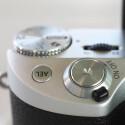 Die Verarbeitung der NX500 ist gut. auf den ersten Blick macht die Kamera einen wertigen Eindruck.